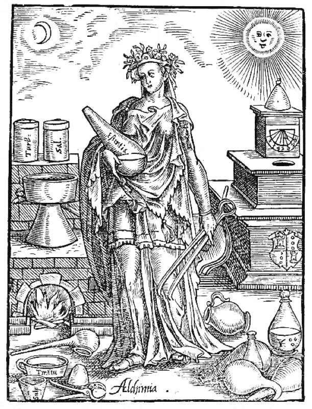 Alegoría de la alquimia